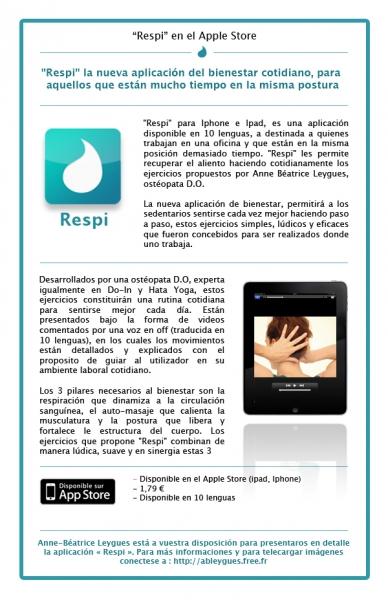 Respi, la versión española